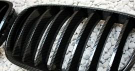 Imagens Grelhas Frontais Bmw X5 X6 - E70 E71 - Pintura Carbono