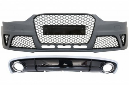 Imagens Kit Audi A4 Look Rs4 - Audi A4 Rs4 ( 2012- em diante)