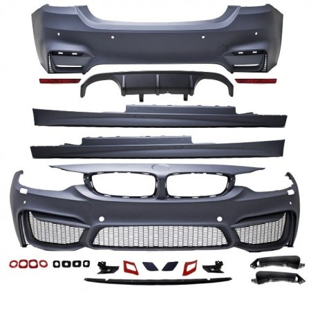 Imagens Kit M Pack M - BMW Serie 4 F32 ou F36 Look M4