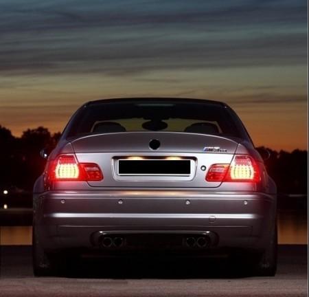 Imagens Parachoques Traseiro CSL BMW Serie 3 E46 M3 Parachoques Look M3 E46