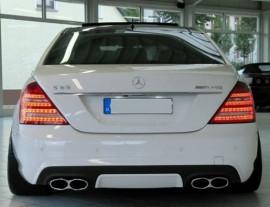 Imagens Ponteiras de escape Mercedes S W221 , CL - MERCEDES