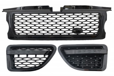 Imagens Conjunto de Grelhas Look Sport Range Rover Sport Design (2005-2008) - 2 Cores disponiveis