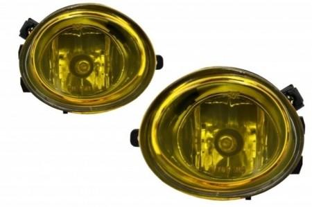 Imagens Conjunto Farois Nevoeiro Bmw Serie 3 E46 Serie 5 E39 - Amarelos