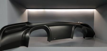 Imagens Difusor Traseiro BMW Para Serie 3 E92 LOOK M3