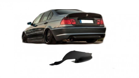 Imagens Difusor Traseiro BMW Serie 3 E46 Sedan ou Touring Pack M