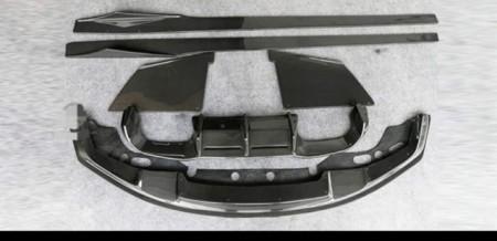 Imagens Conjunto Carbono Bmw M2 F87 Spoiler Frontal F87 M2 Difusor Traseiro M2 F87 Laminas Embaladeiras Performance Bmw M2 F87