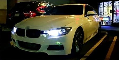 Imagens Par Lampadas Led BMW Serie 3 F30 F31 Luz Diurna Led Luz Diurna Bmw F30 F31