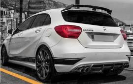 Imagens Aileron Aleron Spoiler Lip Mercedes Class A A45 Amg W176 Look A45 amg