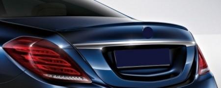 Imagens Aileron Mercedes S W222 Spoiler Mercedes W222 Classe S Lip Mercedes Class S W222