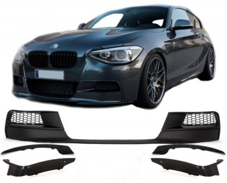 Imagens Bmw Serie 1 F20 F21 Performance Completo - Lip Spoiler Splitters Frontal F20 F21 PERFORMANCE Completo (2012-2015)