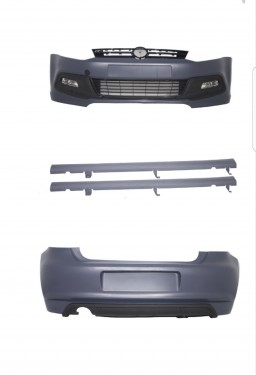 Imagens Bodykit Volkswagen Polo 6R (2009- em diante) Look R-Line - KIT POLO 6R