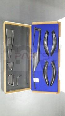 Imagens Conjunto Carbono Bmw Serie 3 F30 F31 Interior 9 Peças (carro ou carrinha )