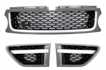 Imagens Conjunto de Grelhas Look Sport Range Rover Sport Design (2008-2013) CINZA
