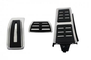 Imagens Conjunto Pedais caixa Automaticos Audi - Pedais Audi A4 B8 (2008-2015) Audi A5 8T (2008-2016) Audi Q5 8R (2008-2016) Audi A6 4G (2011-2015) Audi A7 (2010+)