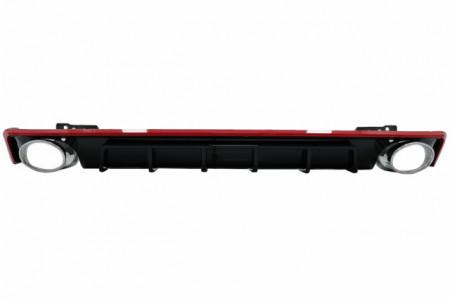 Imagens Difusor Audi A6 4G com Ponteira Look Rs6 (2018- EM DIANTE) A6 C8 4K