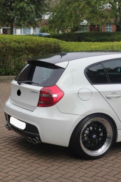 Imagens Difusor Traseiro BMW Para Serie 1 E81 E87 (carro de 3 ou 5 portas) Look 1M PERFORMANCE