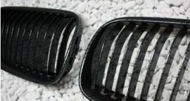 Imagens Grelhas Frontais Bmw Serie 3 - E92 E93 - 2ª Fase Lci - Pintura Carbono