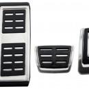 Conjunto Pedais caixa Automatica Audi - Pedais Audi A3 8V , Golf 7 Leon 5F, Octavia