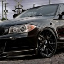 Conjunto Splitters - Lips Frontais BMW Serie 1 E82 / E88 CARBONO REAL