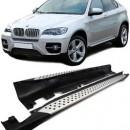 Estribos BMW X6 E71 Degraus em Aluminio BMW X6 E71 EMBALADEIRAS X6 E71