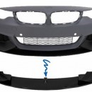 Spoiler Frontal Bmw Serie 4 F32 F33 F36 Performance (Coupe, Cabrio ou Grancoupe) Lip Frontal