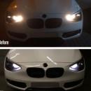 Conjunto Lampadas Diurnas BMW Serie 1 F20 F21 Lampadas Led Diurnas Bmw F20 F21 Serie 1