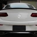 Aileron Mercedes E Coupe W238 C238 Lip MERCEDES Class E Coupe (W238 C238) Modelo 2016 em Diante PRETO BRILHANTE