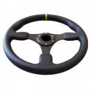 Volante Desportivo Rally Tipo OMP Amarelo blk Plano