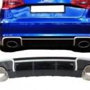Difusor Audi A3 V8 Carro 4 Portas Look RS3 ( 2013- 2015)