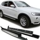 Estribos BMW X3 F25 Degraus em Aluminio BMW X3 F25 Embaladeiras BMW X3 F25