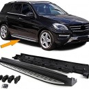 Estribos MERCEDES ML W166 Degraus em Aluminio MERCEDES ML W166 Embaladeiras MERCEDES ML W166