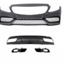 KIT Parachoques Mercedes W205 C63 AMG CARRINHA- BODYKIT MERCEDES Classe C W205 STATION CARRINHA (2014- )