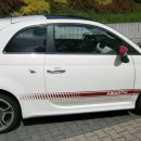 Aileron FIAT 500 Look Abarth Spoiler Lip Fiat 500
