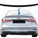 Aileron Lip Spoiler Audi A3 8V Sedan (Carro) 2012 em diante