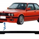 Bmw Serie 3 E30 - Lip Spoiler Splitters Frontal