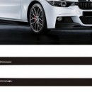 Bmw Serie 3 F30 F31 Performance AUTOCOLANTES LATERAIS PERFORMANCE F30 F31