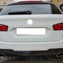 Conjunto de Difusor 550d + Ponteiras 550d BMW Serie 5 F10 F11 (carro ou carrinha ) Tipo 550D
