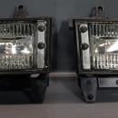Conjunto Farois Nevoeiro Bmw Serie 3 E30 cromado