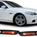 Conjunto Piscas Pretos BMW Serie 5 F10 F11 - Piscas Escurecidos LED