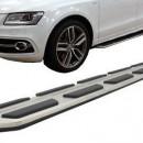 Estribos AUDI Q5 (2008-2016) Degraus em Aluminio AUDI Q5 (2008-2016) Embaladeiras Audi Q5 (2008-2016)