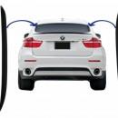 Spoiler Traseiro Bmw X6 E71 Aileron BMW X6 E71 Asas Laterais