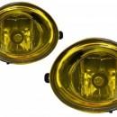 Conjunto Farois Nevoeiro Bmw Serie 3 E46 Serie 5 E39 - Amarelos