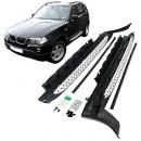 Estribos BMW X3 E83 Degraus em Aluminio BMW X3 E83 Embaladeiras BMW X3 E83