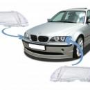 Conjunto LENTES / TAMPAS / VIDROS DE FAROIS BMW Serie 3 E46 - 2ª Fase Lci