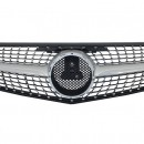 Grelha frontal MERCEDES C W204 DIAMOND