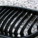 Grelhas Frontais Bmw Serie 5 - E60 E61 - Pintura Carbono
