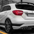 Aileron Aleron Spoiler Lip Mercedes Class A A45 Amg W176 Look A45 amg