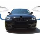Conjunto LENTES / TAMPAS / VIDROS DE FAROIS BMW Serie 5 E60 E61