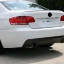 Difusor Traseiro BMW Para Serie 3 E92 E93 ( coupe ou cabrio ) Tipo 335i (2005 - 2012)