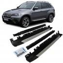 Estribos BMW X5 E70 Degraus em Aluminio BMW X5 E70 EMBALADEIRAS X5 E70